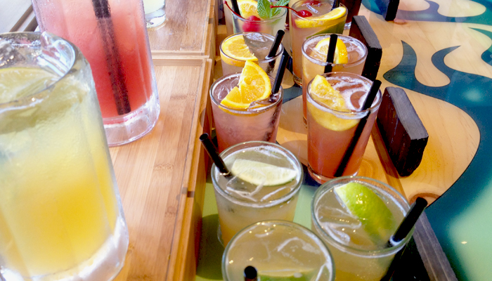 drinks at islands