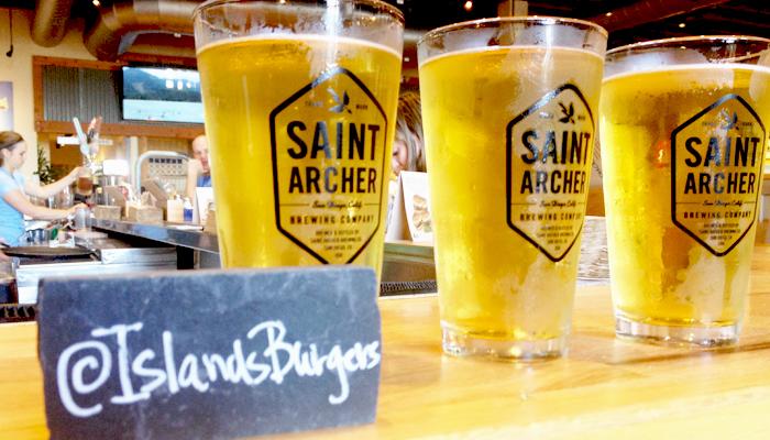 islands burgers beers