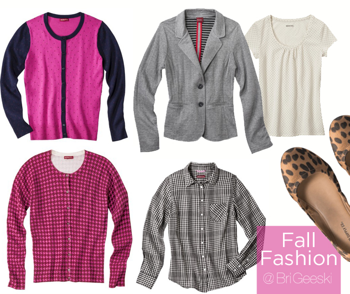 Fall Fashion from Target