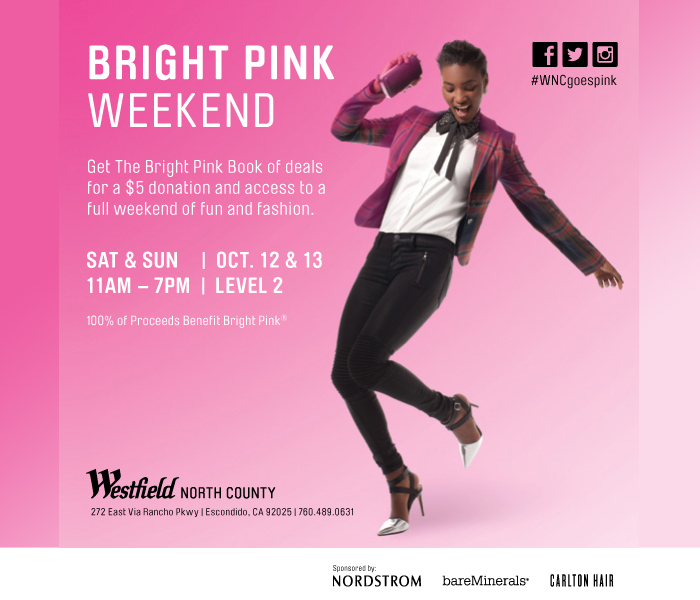 #wncgoespink Bright Pink® Weekend Style and Beauty Event
