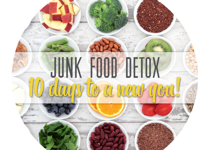 Junk food detox giveaway from Forkin' Healthy
