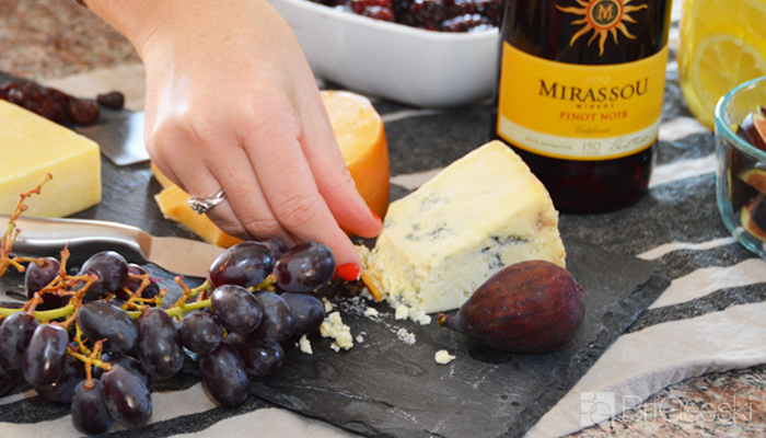 Nothing goes better with wine than cheese