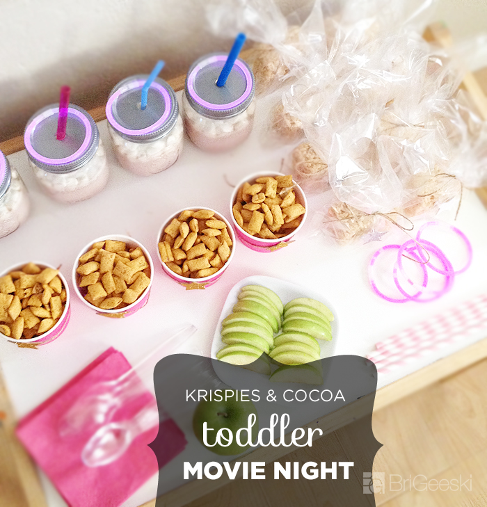 Krispies & Cocoa Toddler Movie Night