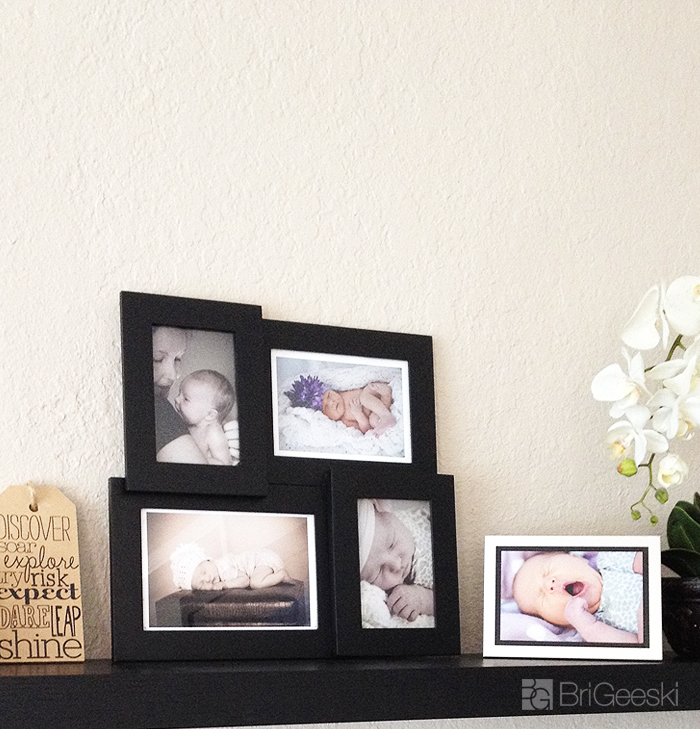 Photos in new living room design