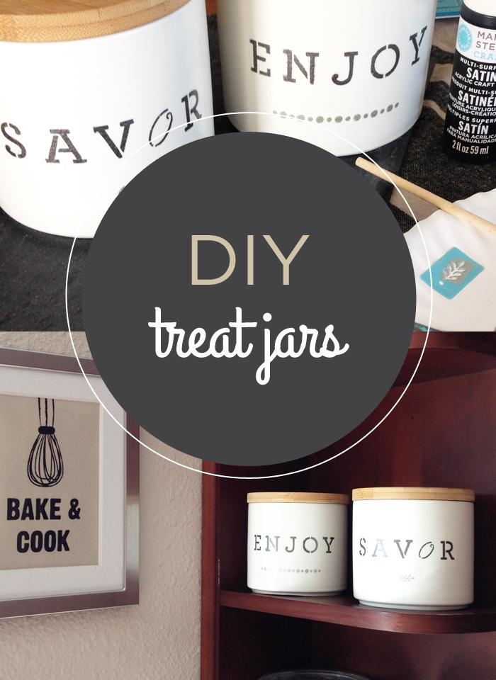 DIY Treat Jars