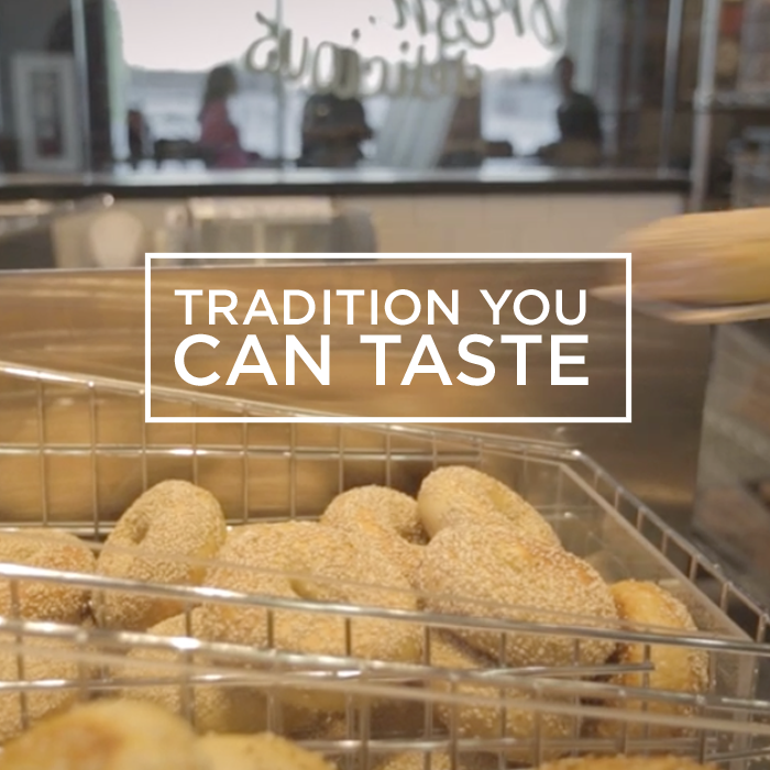 tradition you can taste - Bruegger's Bagels