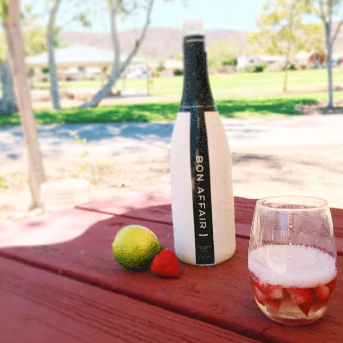 Bon Affair Summer Strawberry Spritzer