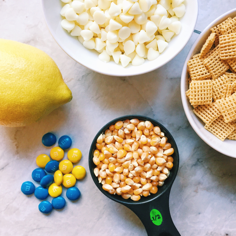 Lemon White Chocolate Popcorn
