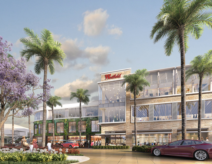 The Westfield Utc Renovation Will Enhance Relaxed Sophisticated Outdoor Pedestrian Oriented Destination Imagine Alfresco Dining Patios
