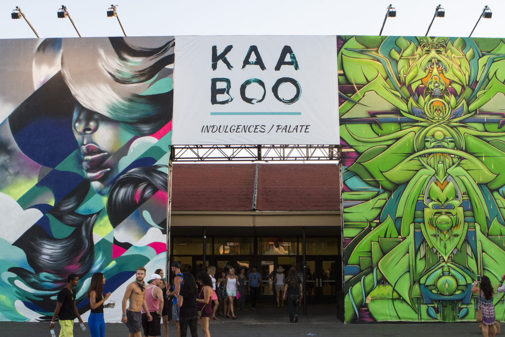 DEL MAR, CA - SEPTEMBER 20: A general view of the artwork during the 2015 KAABOO Del Mar at the Del Mar Fairgrounds on September 20, 2015 in Del Mar, California. (Photo by Christopher Victorio/WireImage for KAABOO Del Mar via imageSPACE)