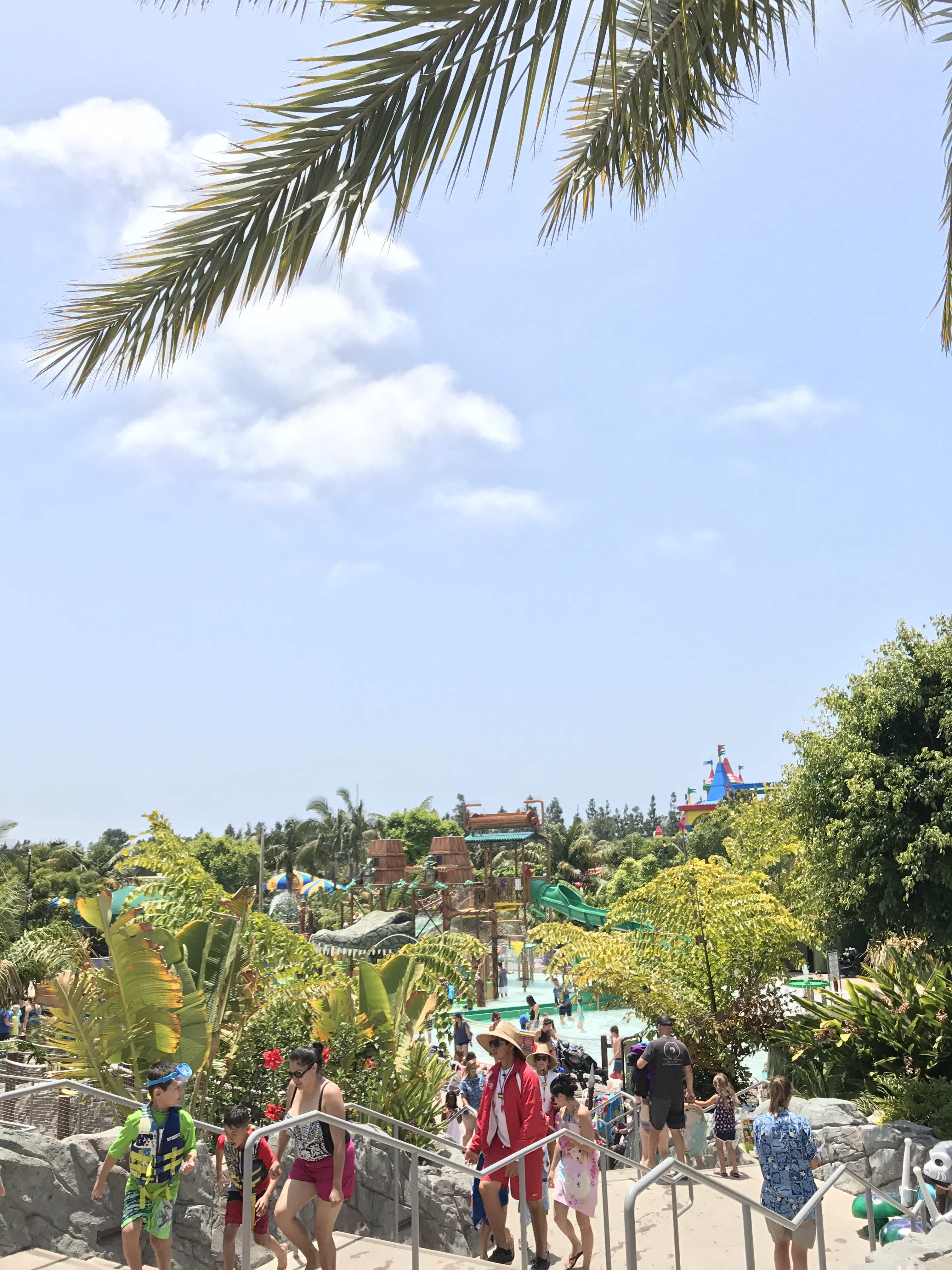 Legoland Water Park in the Summer