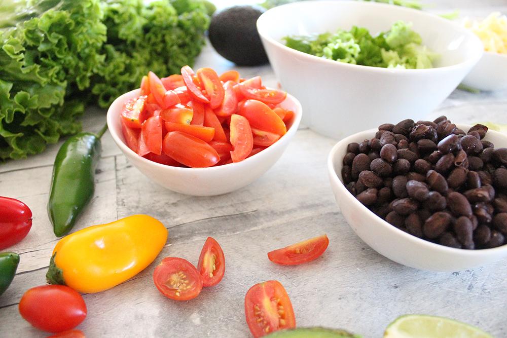 Ingredients for California Turkey Bowls