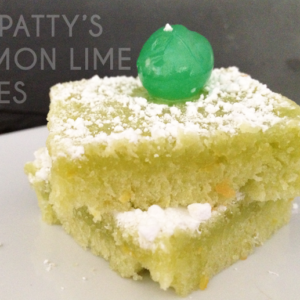 St Pattys Day Lemon Lime Bites