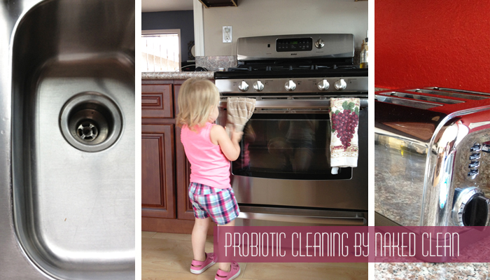 Probiotic House Cleaning by Naked Clean