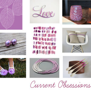Current Obsessions: Radiant Orchid. 2014 Color of the Year.