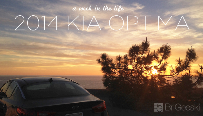A Week in the Life With the 2014 Kia Optima