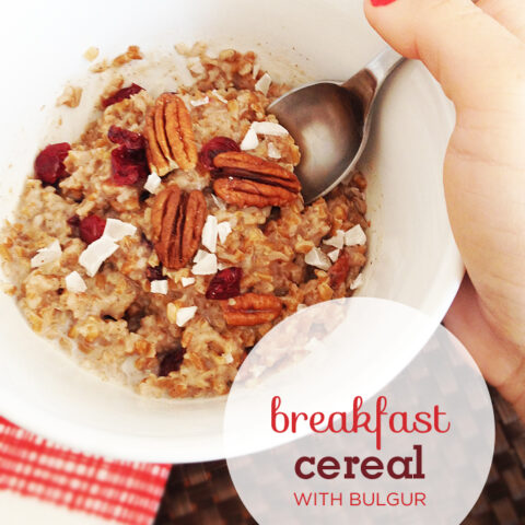 Breakfast Cereal With Bulgur Wheat