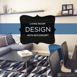 Living Room Design with BoConcept