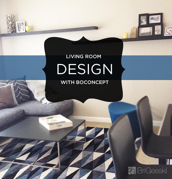 Living Room Design with BoConcept