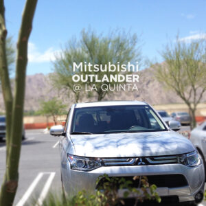 Mitsubishi Outlander GT @ La Quinta & PGA West