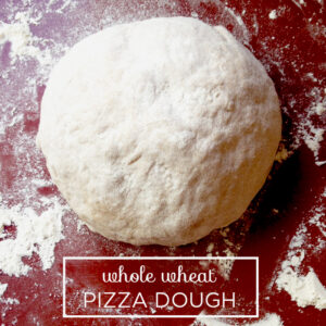 Bob's Red Mill Whole Wheat Pizza Dough