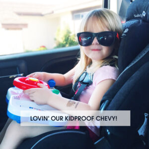 Lovin' Our Kidproof Chevy