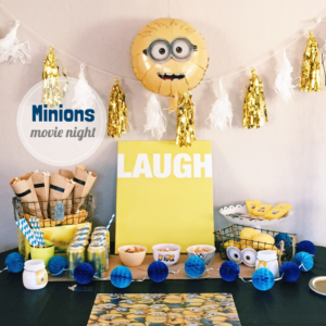 minions movie night