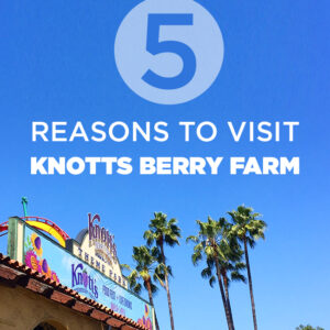 5 Reasons to Visit Knotts Berry Farm
