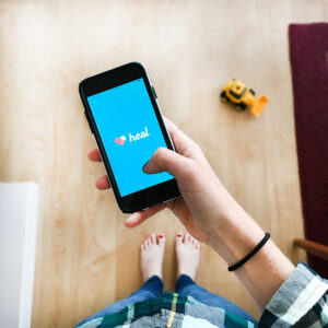 Use the Heal App to call a Doctor to your house