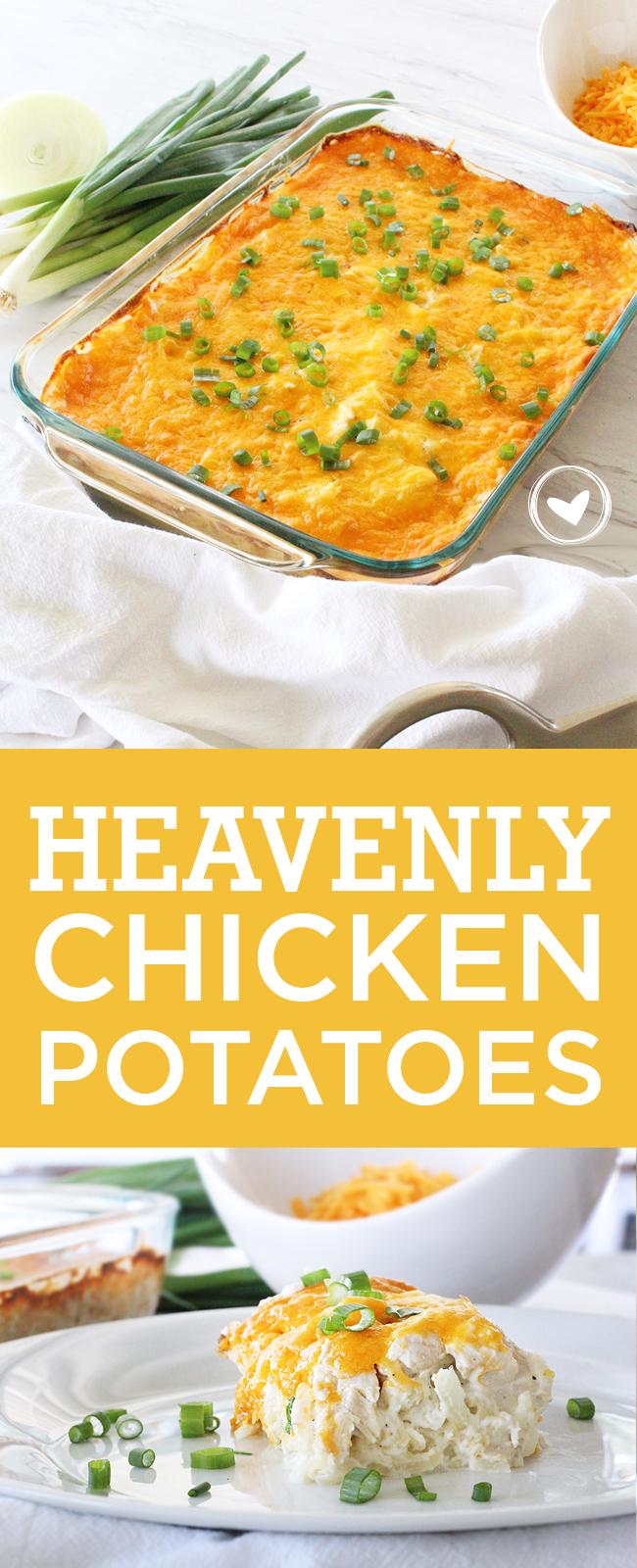 The best Heavenly Chicken Potatoes