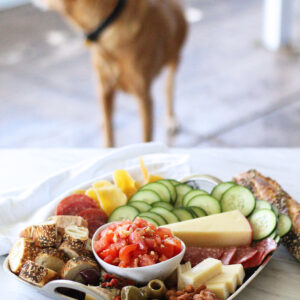 Bruschetta Snack Tray