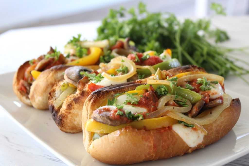 Summer Spicy Italian Dogs