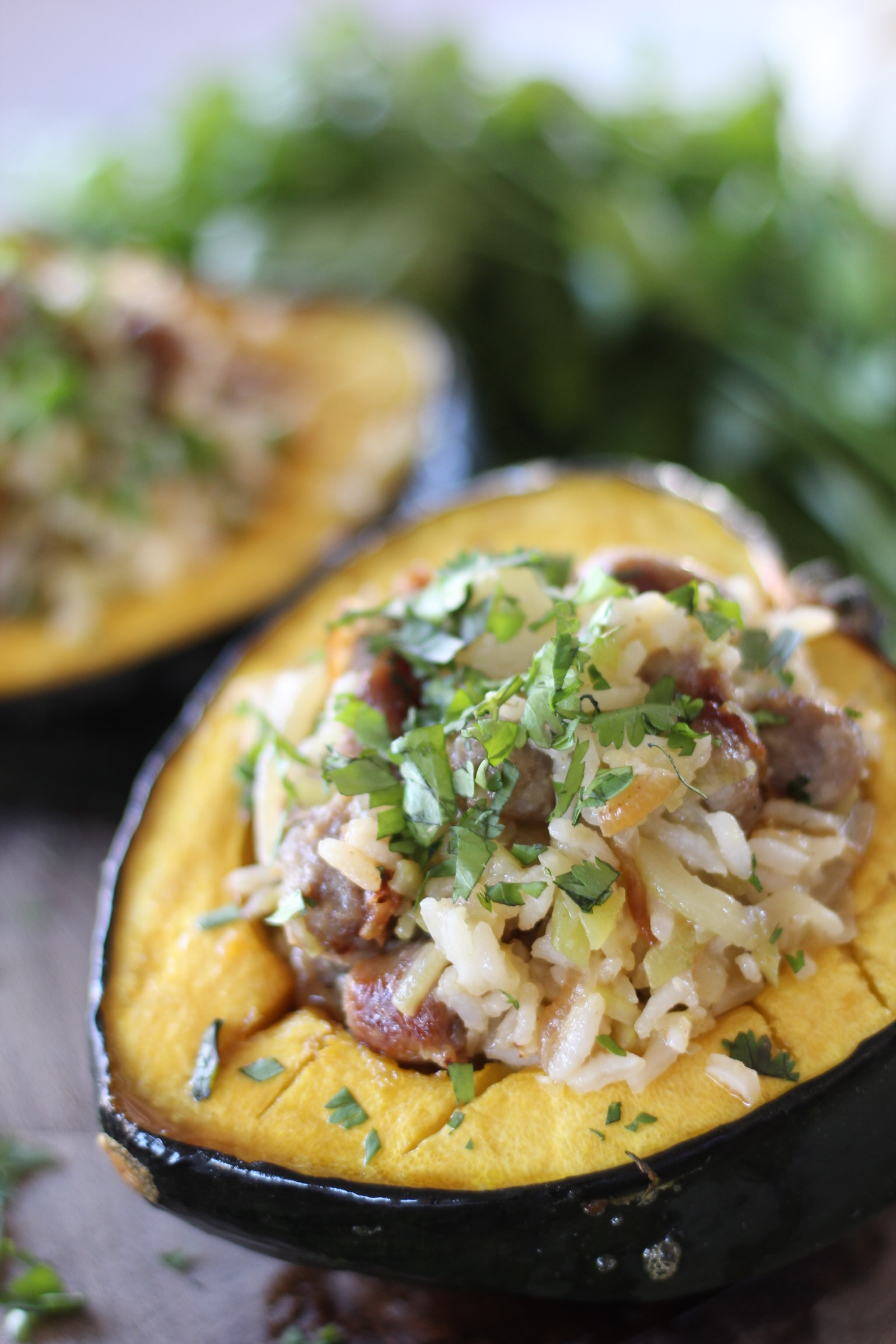 How to serve acorn squash