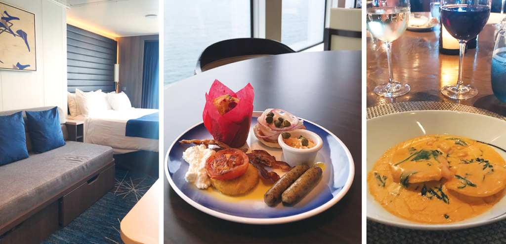 Norwegian Joy Rooms & Food