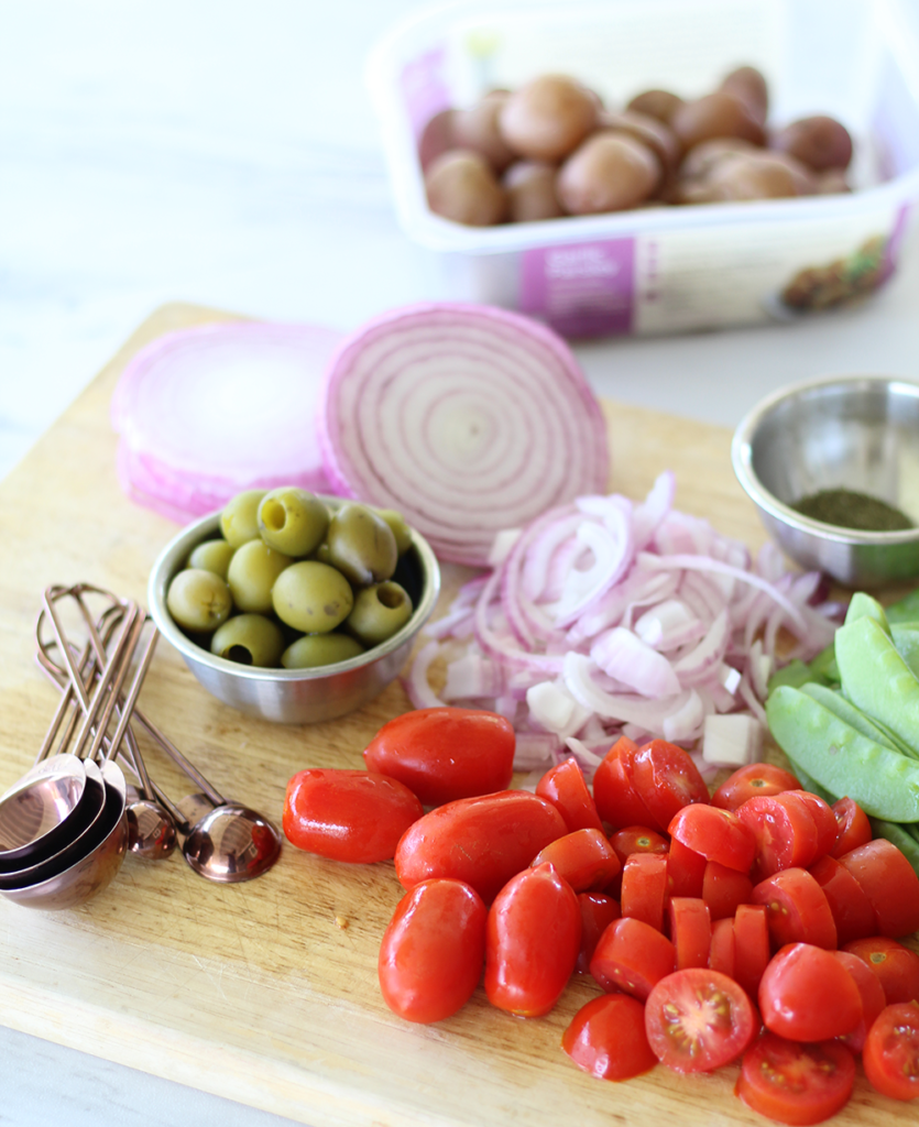 olive and potato