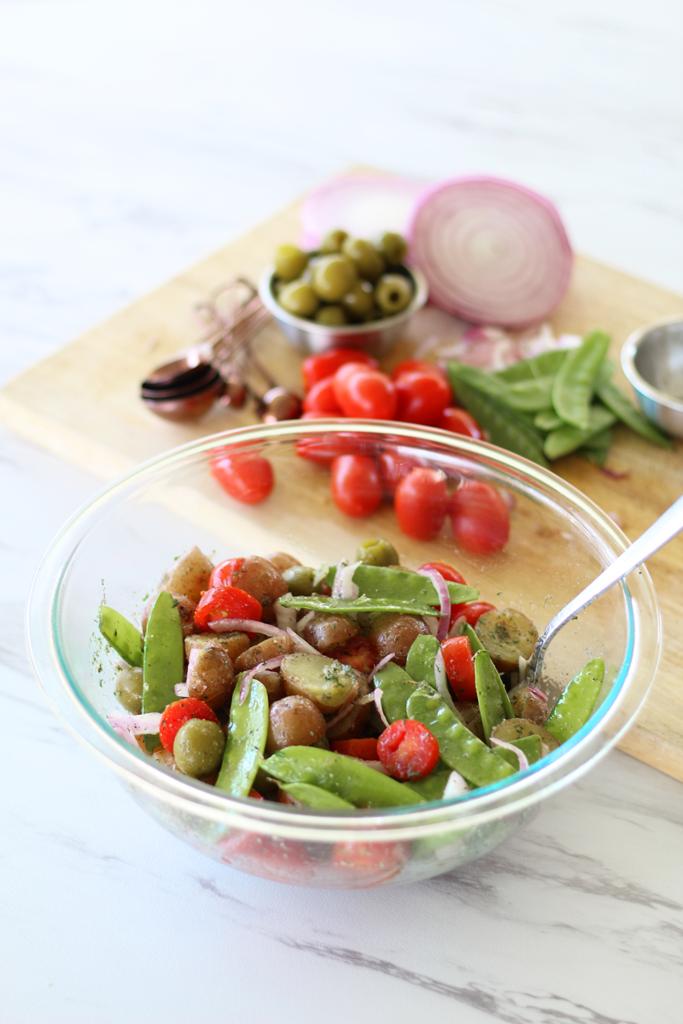 the best tomato potato salad