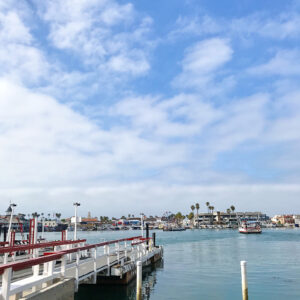 Balboa island at Newport Beach