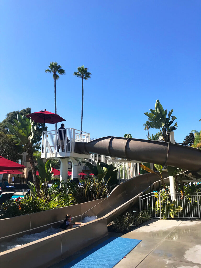 Waterslide at Newport Beach