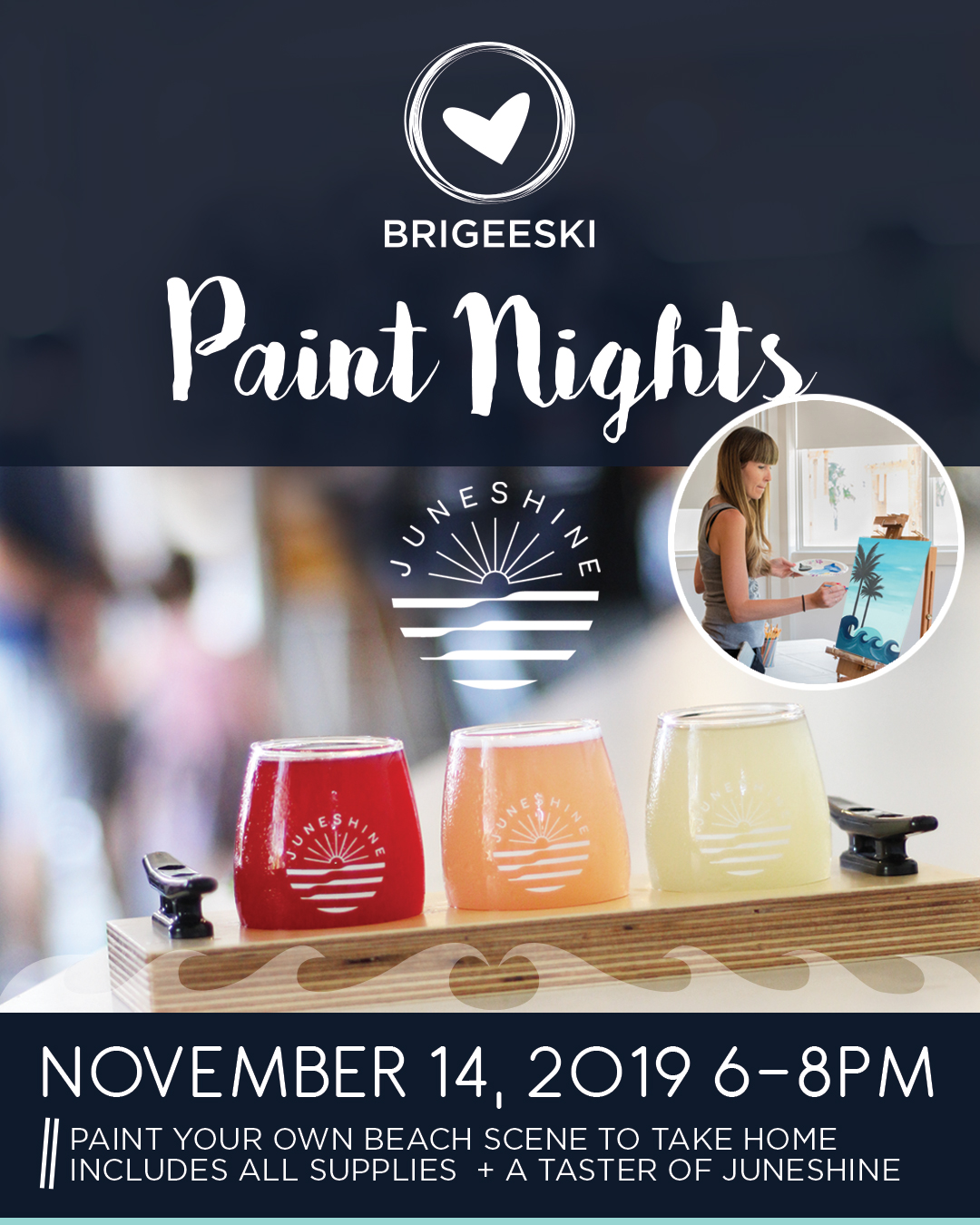 BriGeeski Paint Nights