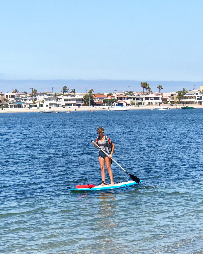 Paddle board at the Bahia