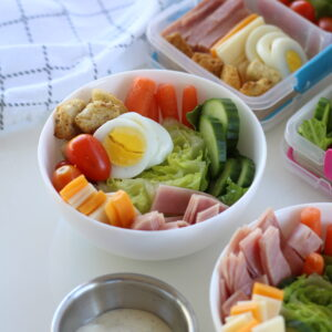 Kids Chef Salad - To go and at home