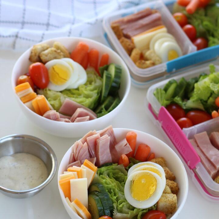 Kids Chef Salads