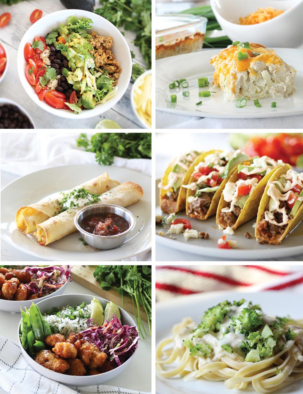 Easy Lunch Dinner Ideas Brigeeski