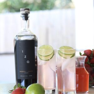 Strawberry Lime Mezcal CocktailsI