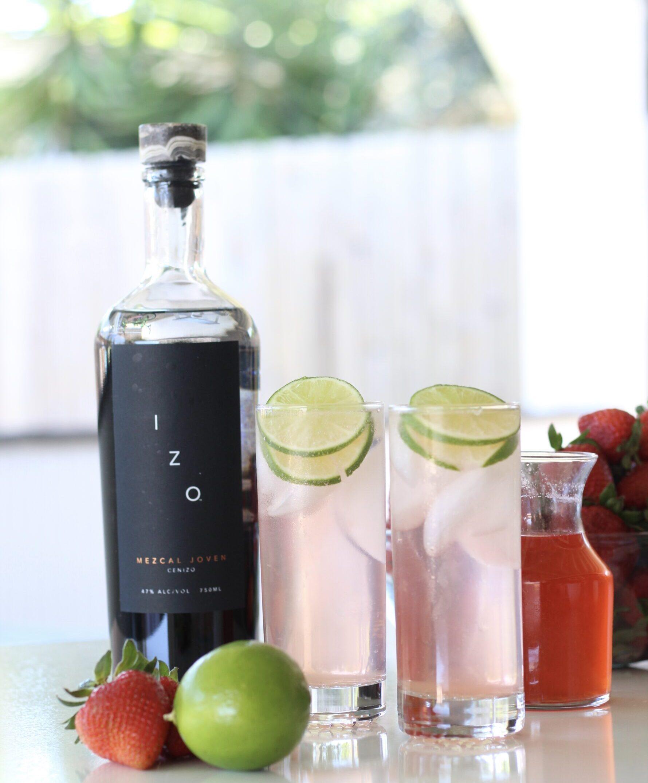 Strawberry Lime Mezcal CocktailsI