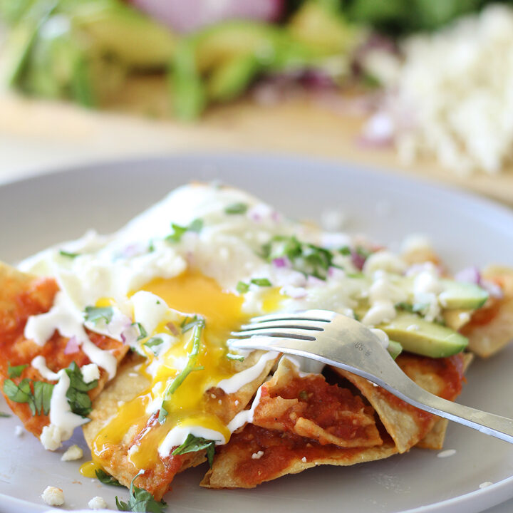 The Best Chilaquiles Made at Home