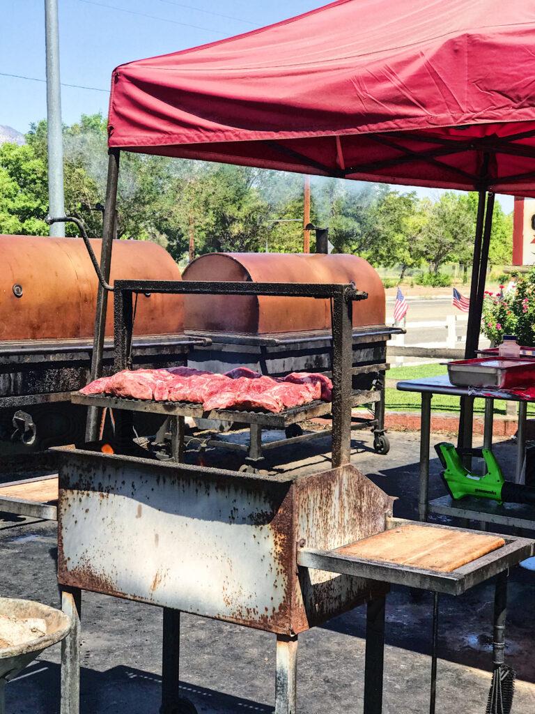 Copper Top BBQ in Big Pine near Bishop