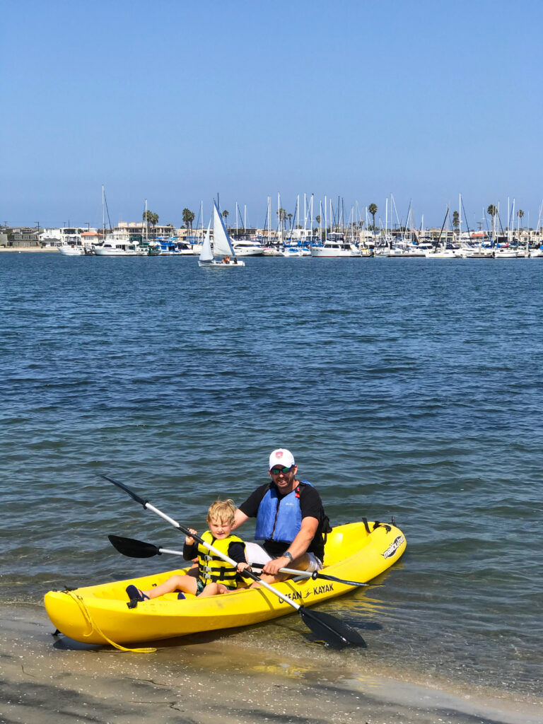Rent a kayak in Mission Bay