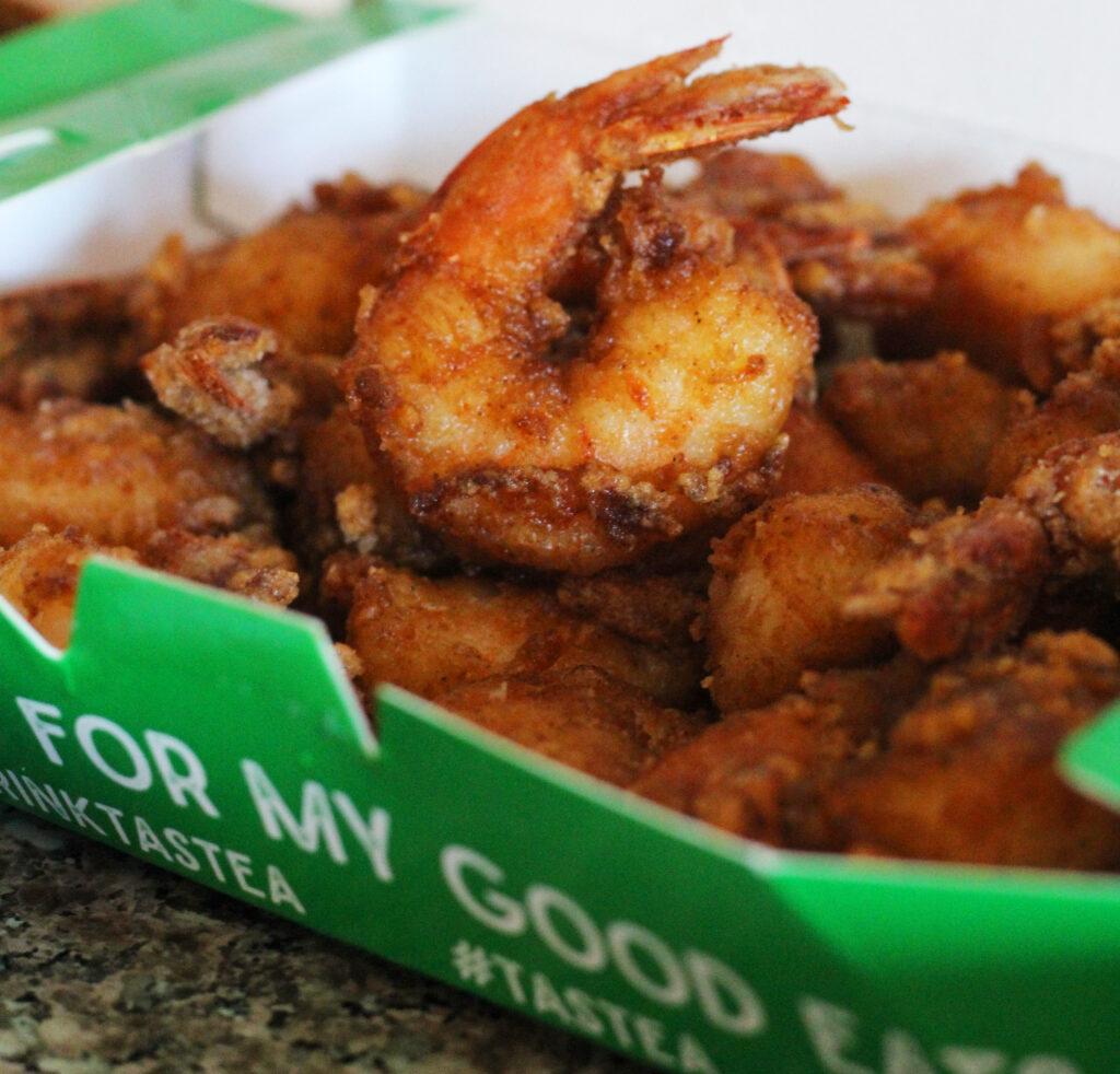 Yummy Shrimp from Tastea