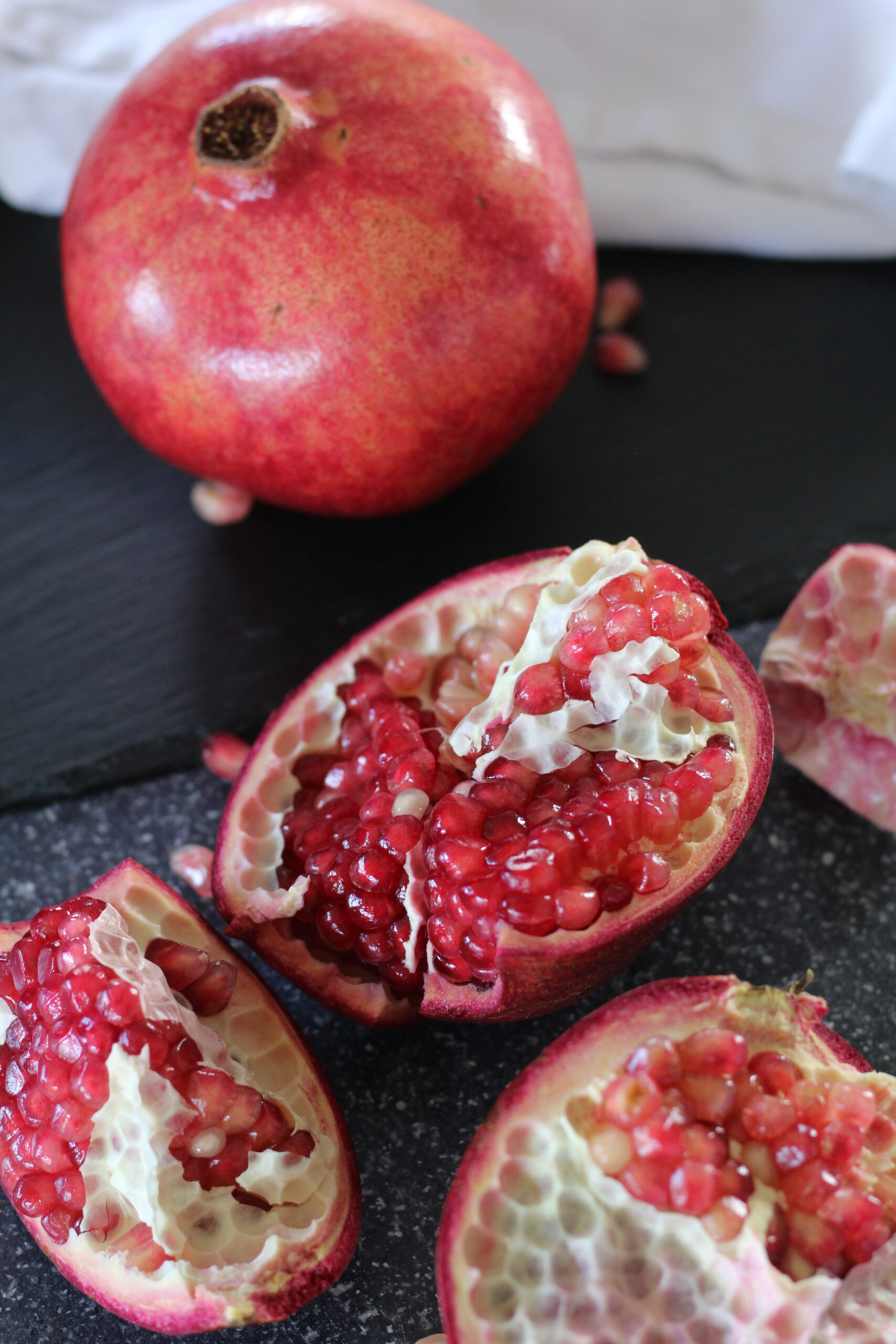 How to Cut a Pomegranate & Get the Seeds Out